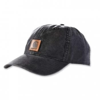 vetipro vente en ligne vetements pro casquette homme en toile anti transpirante avec etiquette carhartt carhartt brown 100289 black