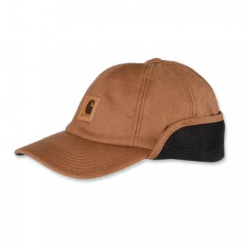 vetipro vente en ligne vetements pro casquette protege oreilles avec isolation carhartt brown a199 brown 3