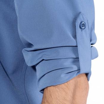 vetipro vente en ligne vetements pro chemise de peche avec upf homme federal blue 103011 federal blue 4