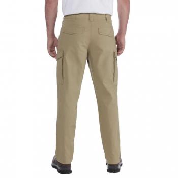 vetipro vente en ligne vetements pro pantalon cargo en toile souple depaisseur moyenne dark khaki 103574 dark khaki 2