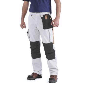 vetipro vente en ligne vetements pro pantalons a poches multiples homme 100233 white