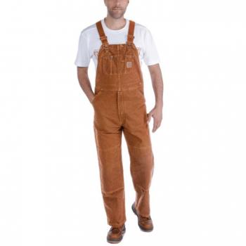 vetipro vente en ligne vetements pro salopette homme en toile extensible legere carhartt brown 102987 brown