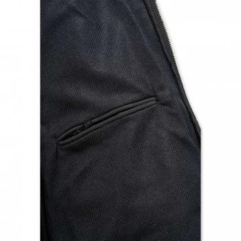 vetipro vente en ligne vetements pro sweat shirt a capuche deperlant zippe a lavant homme coupe large black 100632 black 4