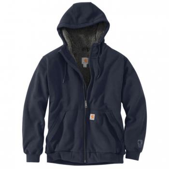 vetipro vente en ligne vetements pro sweat shirt a capuche homme zippe double en sherpa new navy 103308 new navy 3 1