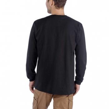 vetipro vente en ligne vetements pro t shirt a manches longues emea logo central carhartt black 104107 black 2