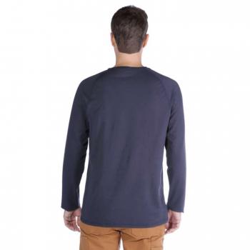 vetipro vente en ligne vetements pro t shirt a manches longues homme anti transpirant coupe reguliere navy 100393 navy 2 1