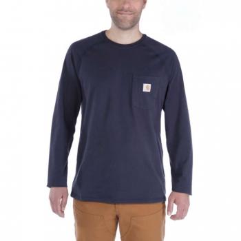 vetipro vente en ligne vetements pro t shirt a manches longues homme anti transpirant coupe reguliere navy 100393 navy