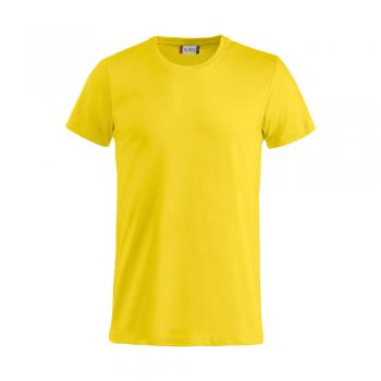 vetipro vente en ligne vetements pro t shirt unisexe basic t blanc copie basic t jaune