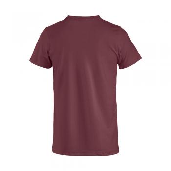 vetipro vente en ligne vetements pro t shirt unisexe basic t bordeaux basic t bordeaux dos