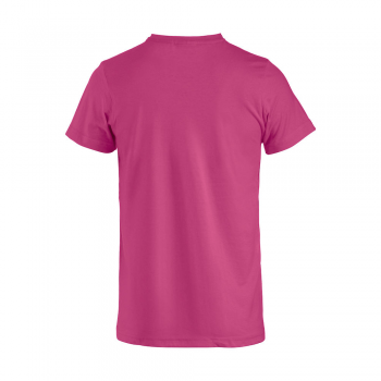 vetipro vente en ligne vetements pro t shirt unisexe basic t cerise basic t cerise dos