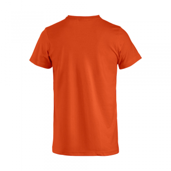 vetipro vente en ligne vetements pro t shirt unisexe basic t orange basic t orange dos
