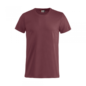 vetipro vente en ligne vetements pro t shirt unisexe basic t rouge copie basic t bordeaux