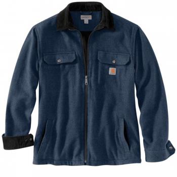 vetipro vente en ligne vetements pro veste chemise zippee doublure molleton carhartt twilight 104074 twilight 3
