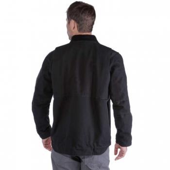 vetipro vente en ligne vetements pro veste homme avec col en velours cotele black 103370 black 2